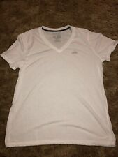 Adidas Men's Xl Ultimate Tee White Short Sleeve Shirt Athletic Climalite