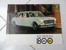 Morris 1800 MKII sales brochure prospekt catalogue