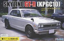 Fujimi ID-259 1/24 Scale Model Sports Car Kit Nissan Skyline KPGC10 2000 GT-R'71