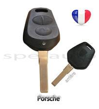 plip coque clé Porsche 3 boutons Boxster Carrera 911 968 986 996 GT2,GT3...