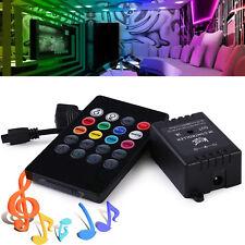 DC12V 20keys Infrared Music Controller IR Sound Sense Remote for RGB LED Strip