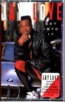 NEW Jay Love Get Into It 1989 Sealed Cassette Tape Album Rap Hiphop Hype Sticker