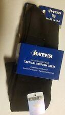 Bates Footwear Uniform Dress Black 1 Pk X-Large Socks FAST FREE USA SHIPPING