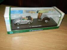 VW Käfer Cabrio Modell mit Camper Modell 1:43 unbespieltes Vitrinenmodell