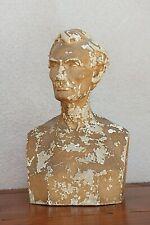 19th Century Plaster Bust of Abraham Lincoln by Leonard Wells Volk, circa 1865