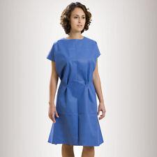 "*50-Pieces* Graham Medical ""36 x 48"" Exam Gown Non-Woven Blue 65335"
