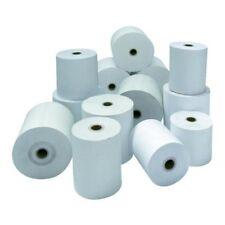 Lot 10 Rouleaux papier 57 x 70 x 12 mm Neuf Bobines ticket de caisse