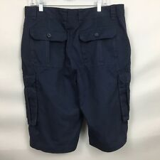 MOUNTAIN WAREHOUSE 36 CARGO SHORT NWT STITCHED DETAILING MULTIPLE POCKETS BLUE