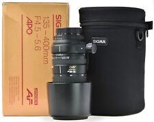 NIKON AF 135-400mm Sigma APO 4.5-5.6 D + Hood