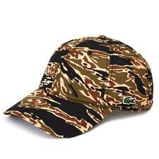 Lacoste LIVE Ripstop Camo Cap Hat Rare RK3863