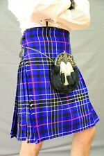 Modern Blue Tartan Kilt | Scottish Kilt | Made to Measure
