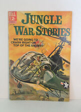 Jungle War Stories #5 Very Nice Painted Cover Dell VG 1964
