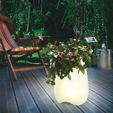 Lampe solaire pot de fleurs lumineux À DESIGN LUMINAIRE