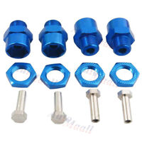 4pcs 1/8 12mm to 17mm Wheel Hex Hub Adapter Conversion Extension for 1/10 RC Car