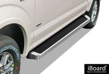iBoard Running Boards Style Fit 15-20 Ford F150 SuperCrew Cab & 17-20 F250