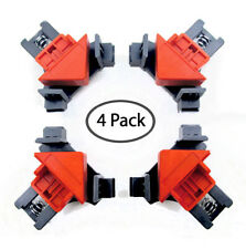 T Joints Corner Clamps(4Pcs) Right Angle Clip Clamps Corner Holder Woodwork Tool