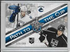 12-13 Certified Ryan Kesler/Willie Mitchell Path To the Cup QF # PCQF4 #d/399