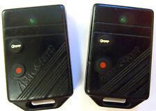 Lot of 2 AstroStart 2 button keyless entry remote starter J5FTX-2000 aftermarket