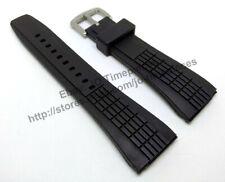 Comp. Seiko Velatura 7T62-0HD0 - SNAA93P2 26mm Black Rubber watch Strap / band
