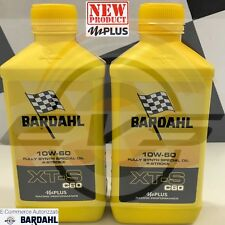 2 Litri BARDAHL XT-S XTS C60 10W60 Olio Moto 4T Alte Prestazioni Antiattrito