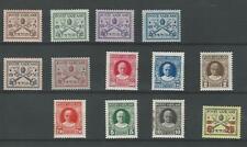 Vatican City, Postage Stamp, #1-4, 6-14 Mint NH & LH, 1929, JFZ