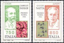 Italy 1994 Europa/Nobel Prize/Scientists/Medical/Chemistry/Cells 2v set (n46143)