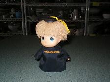 Precious Moments Hi Babies 1988 Congratulations Graduation Black Graduate Doll