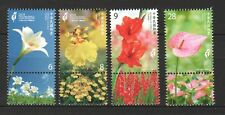 REP. OF CHINA TAIWAN 2018 TAICHUNG WORLD FLORA EXPOSITION SET OF 4  STAMPS MINT