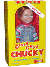 "CHILD'S PLAY TALKING CHUCKY 15"" ""GOOD GUY"" HAPPY MEGA DOLL Sound Bride Mezco"
