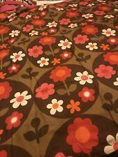 """lisa"" Bridget Swabey  Moygashel vintage 60's 70's curtain/ fabric  **RARE** 52"""