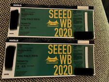 2x SEEED Tickets Waldbühne Berlin Fr. 18.09.2020
