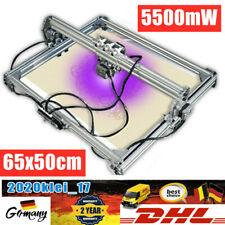 65x50cm CNC Graviermaschine Fräse Engraver Laserdrucker DIY mit 5500mW Laserkopf