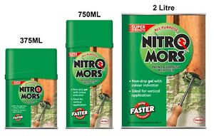 Super Strength All Purpose Paint Stain & Varnish Remover Nitromors - 750ml / 2L