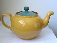 DENBY - SPICE - LARGE TEA POT (1922 SHAPE) - SECOND QUALITY - VERY GOOD USED*a