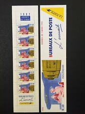 Carnet timbre France 1992 YT BC2744A neuf**  non plié. Les métiers de La Poste