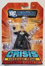 DC Universe Infinite Crisis Black Suit SUPERMAN PRIME Figure #46 MOC ULTRA-RARE!