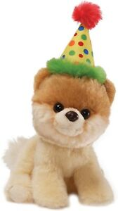 Baby Gund - Itty Happy Birthday -geburtstag Plush Dog 7 1/8x2 13/16x4 11/16in