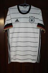 Germany Deutschland 2020 2021 Home Euro Soccer Adidas shirt jersey Size S