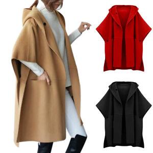 Womens Casual 3/4 Sleeve Slim Work Business Suit Coat Jacket Blazer Tops OL Wear