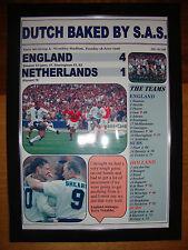 England 4 Holland 1 - Euro 96 - framed print