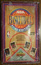 Set of 2 Upper Deck 1991-1992 NBA Basketball Cards Inaugural Edition Lot 1