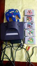 N64 - Nintendo 64 Konsole inkl. Mario 64 und Controller +4 Spielen
