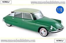 Citroën DS 19 1956 Vert Printemps & Champagne  NOREV - NO 181480 - Echelle 1/18