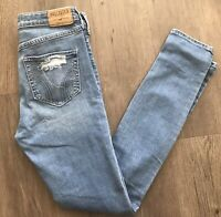 Hollister Women's ~ Hight Rise Super Skinny Stretch Jeans ~ Sz 3R Measures 26x31