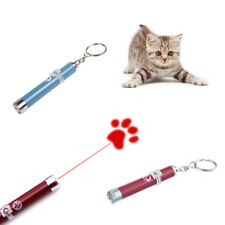 Funny Pet Dog Cat Toys LED Laser Pointer light Pen Bright Cute Paw Animation un