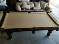 Connelly Pool Table Prescott 8 ft. - Cherry finish  - Lots of extras! Tournament