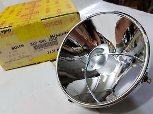 VW Headlight Reflectors for T1,T3 1968-73 Genuine Bosch converted for RHD Hella
