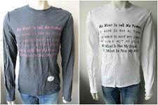 "Juicy Couture Herren ""Mind"" Langarm Tee Shirt T-Shirt"