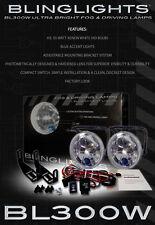 BlingLights Xenon Halogen Fog Lamps Lights for 02-04 Nissan Altima S SE SL 03