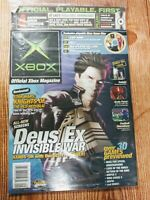 Official Xbox Magazine September 2003 Issue #22 Plus Demo Disc Brand New Sealed
